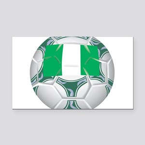 Championship Nigeria Soccer Rectangle Car Magnet