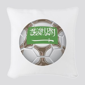 Championship Saudi Arabia Woven Throw Pillow
