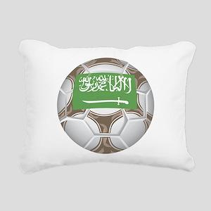 Championship Saudi Arabia Rectangular Canvas Pillo