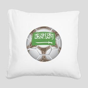 Championship Saudi Arabia Square Canvas Pillow