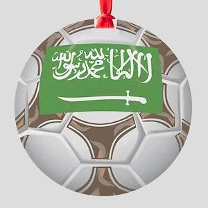 Championship Saudi Arabia Round Ornament