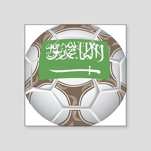 "Championship Saudi Arabia Square Sticker 3"" x 3"""