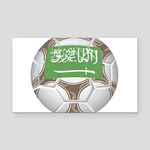 Championship Saudi Arabia Rectangle Car Magnet