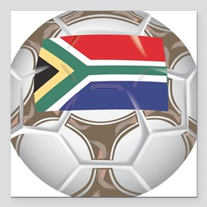 """Championship South Africa Square Car Magnet 3"""" x 3"""