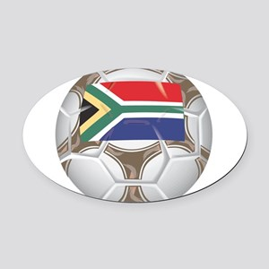 Championship South Africa Oval Car Magnet