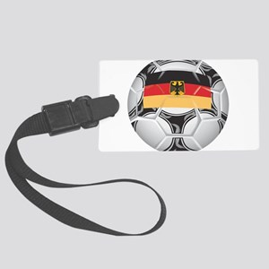 Championship Germany Soccer Large Luggage Tag