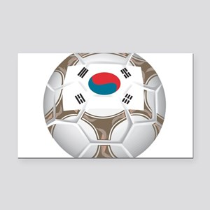 Championship South Korea Rectangle Car Magnet