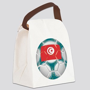 Championship Tunisia Soccer Canvas Lunch Bag