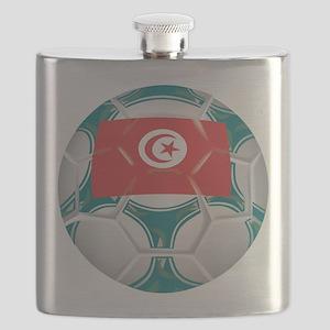 Championship Tunisia Soccer Flask