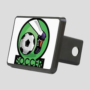 Soccer Rectangular Hitch Cover