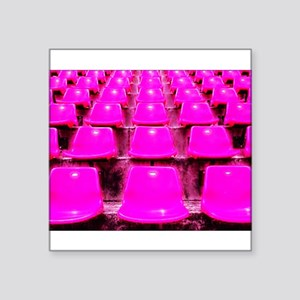 Let's Fill the Seats for the Cure Sticker