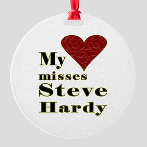 Heart Misses Steve Hardy Ornament