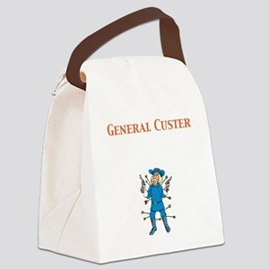 General Custer Canvas Lunch Bag