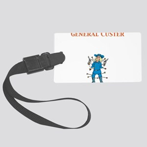 General Custer Large Luggage Tag
