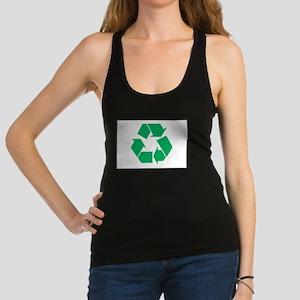 Recycle!-03 Racerback Tank Top