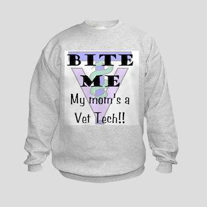 Kids Sweatshirt - Mom Vet Tech