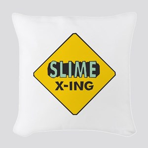 Slime-X-Ing Woven Throw Pillow
