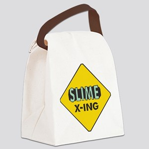 Slime-X-Ing Canvas Lunch Bag