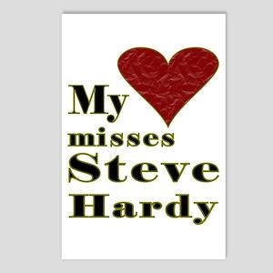 Heart Misses Steve Hardy Postcards (Package of 8)
