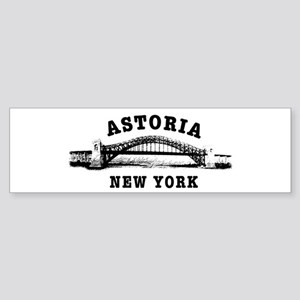 Astoria Hellgate Bridge Bumper Sticker