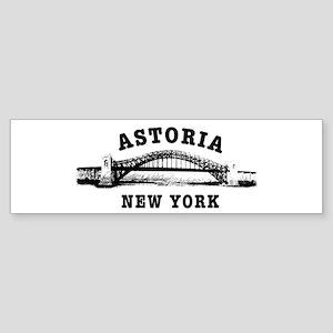 Astoria Hellgate Bridge Bumper Sticker
