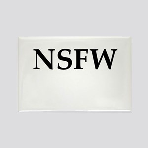 NSFW Rectangle Magnet
