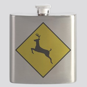 Deer Sign Flask