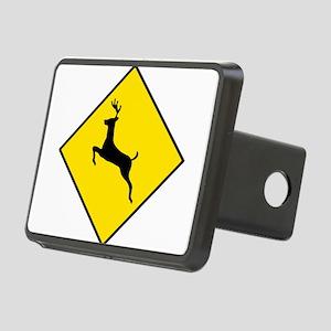 Deer Sign Rectangular Hitch Cover