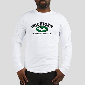 Upper Peninsula Long Sleeve T-Shirt