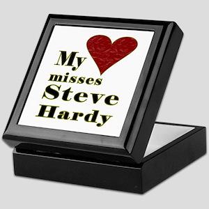 Heart Misses Steve Hardy Keepsake Box