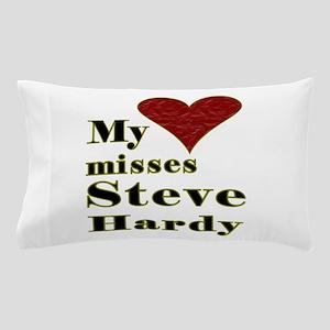 Heart Misses Steve Hardy Pillow Case