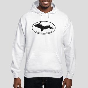 Upper Peninsula Oval Hooded Sweatshirt
