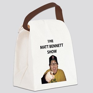 BENNETT-PIC-SHIRT-(WINGS-PO Canvas Lunch Bag