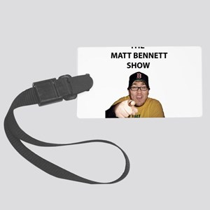 BENNETT-PIC-SHIRT-(WINGS-PO Large Luggage Tag