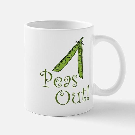 Peas Out Mug