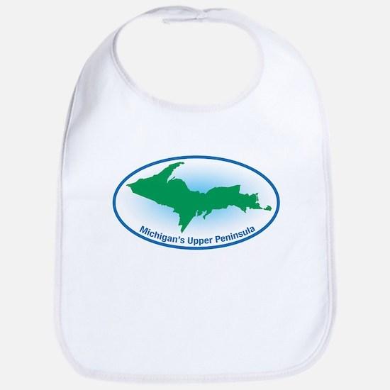 Upper Peninsula Oval Bib