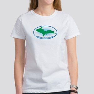 Upper Peninsula Oval Women's T-Shirt