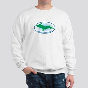 Upper Peninsula Oval Sweatshirt