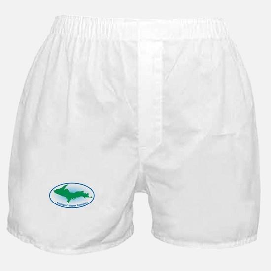 Upper Peninsula Oval Boxer Shorts