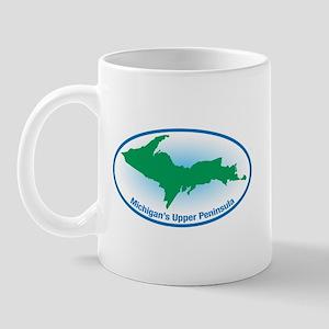 Upper Peninsula Oval Mug
