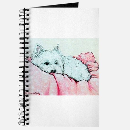 Sleepy Westie Journal