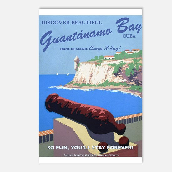 Welcome to Gitmo Postcards (Package of 8