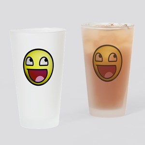 Epic Smiley Drinking Glass