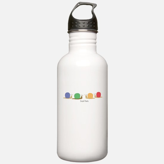snail party Water Bottle