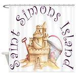 Saint Simons Island Shower Curtain
