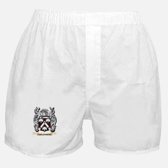 Goldsmith Coat of Arms - Family Crest Boxer Shorts