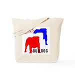 USA Bulldog Tote Bag