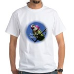 White Save the Quakers T-Shirt