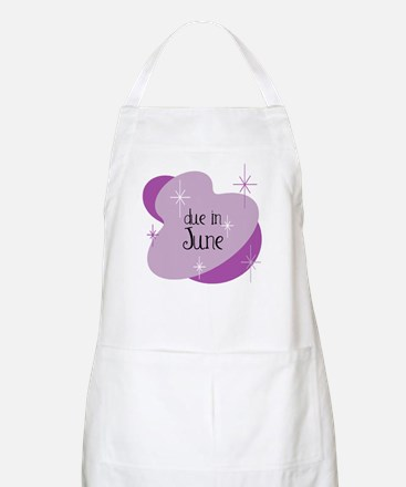 Due In June Retro BBQ Apron