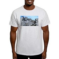 Reagan on Rushmore Ash Grey T-Shirt